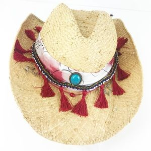 Peter Grimm   western straw hat